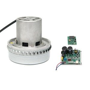 Brushless motor for vacuum cleaner in dry & wet circumstance