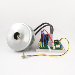 "500W丨5.1"" through flow brushless blower"